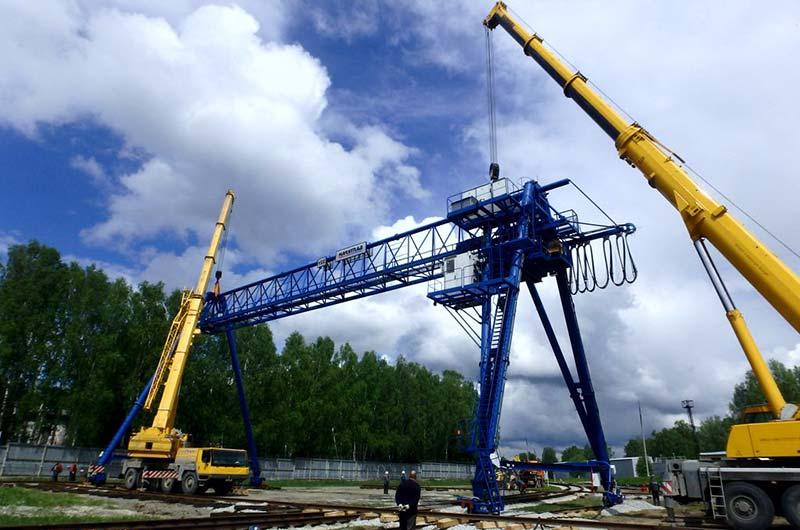 Монтаж/демонтаж подъёмно-транспортного оборудования, перегон кранов во Владивостоке