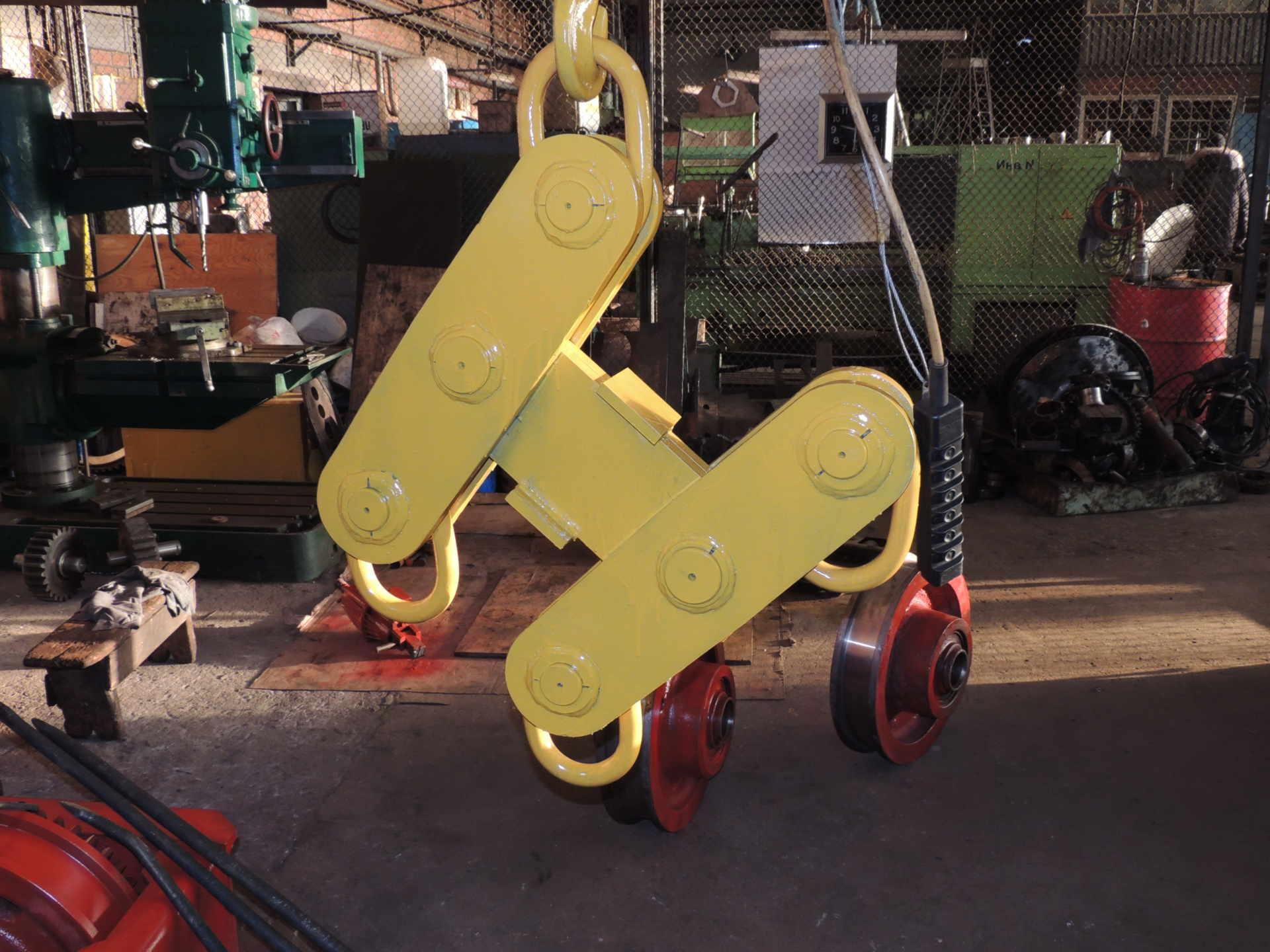 Изготовление балансира грузоподъёмностью 10 тонн